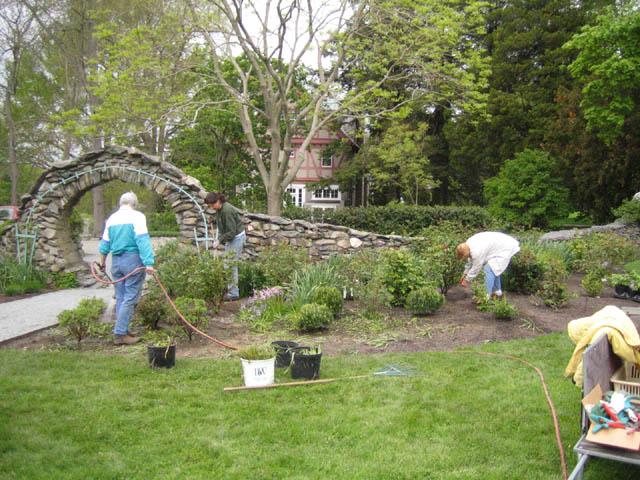 Rose Garden - after! -