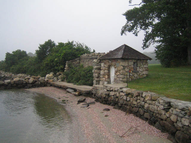The saltwater pumphouse