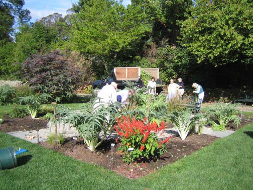 Dismantling the garden