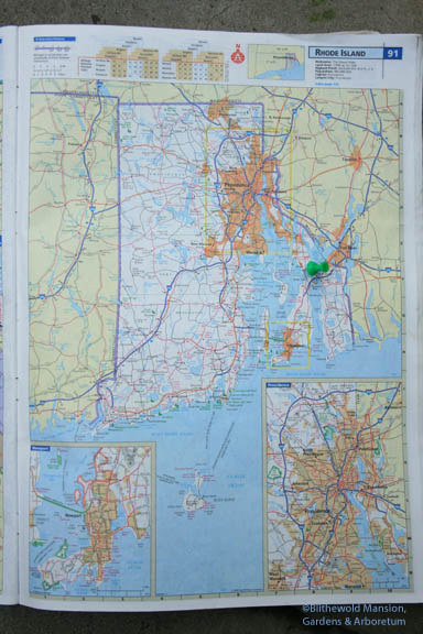 "Where we are ""on the map"" (under the thumb tack)"