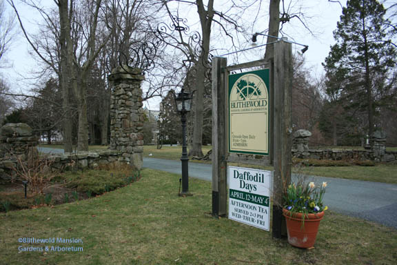 Blithewold's entrance