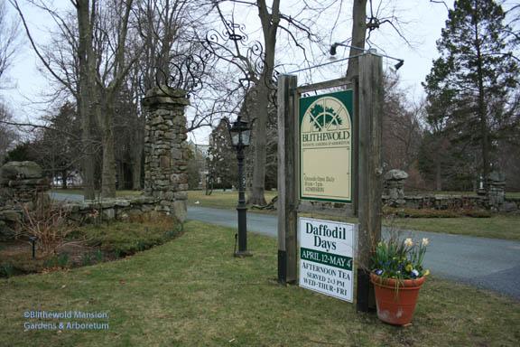 Blithewold's entrance