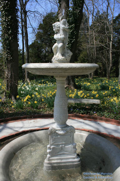 The Bosquet fountain