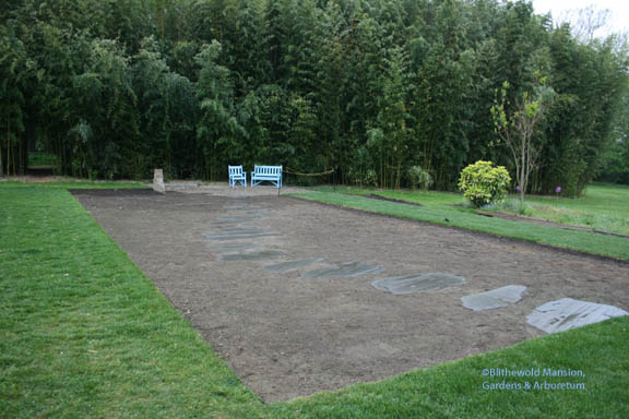 our newest Display Garden bed - a blank canvas ready for planted paint