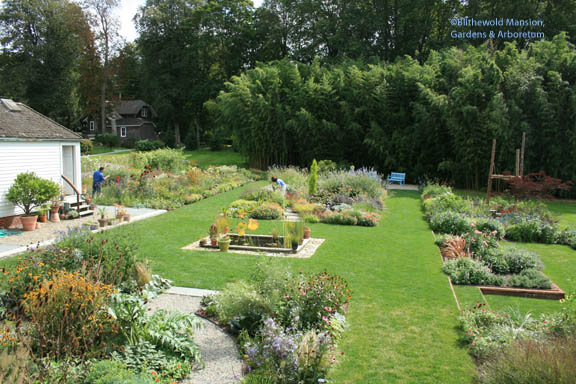 Overview of the Display Garden