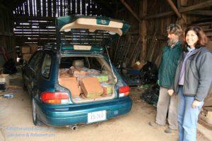 John and Gail loading up