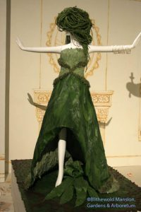 green leafy dress