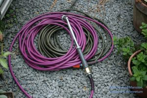 lightweight hose - a tamed snake.