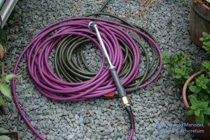 lightweight hose - a tamed snake.