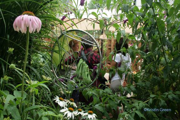 Bird St garden party