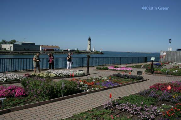 Erie Basin Marina University Test Garden flagged with favorites