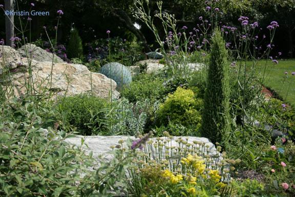 Gioia's rock garden