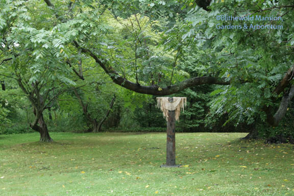 Vestiges by Paulette Carr, in the nut grove