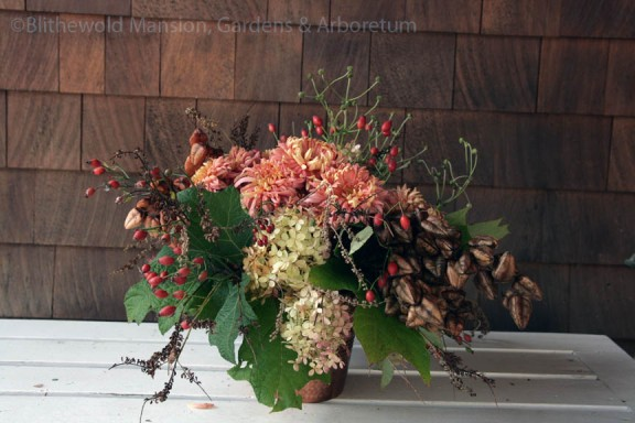Debra Prinzing's Slow Flowers arrangement