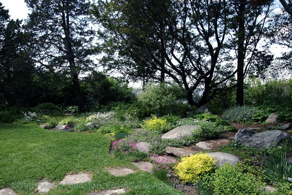 The mid-June-beautiful Rock Garden