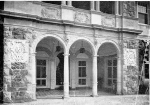 Blithewold Loggia, 1910