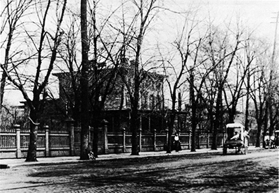 The Pardee Mansion, demolished in 1923