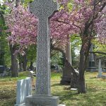 Augustus Van Wickle's gravestone, Hazelton, PA