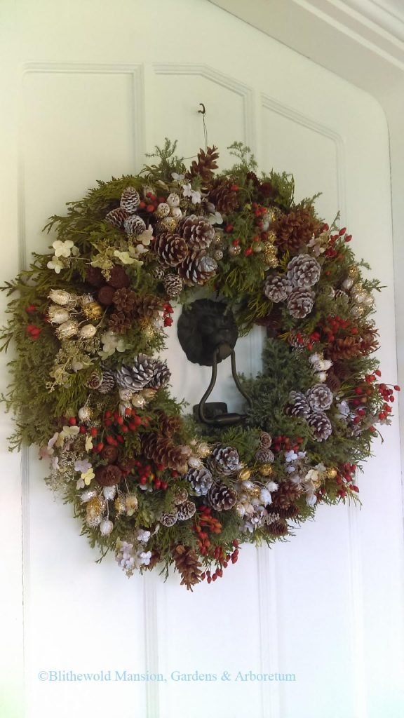 Blithewold Front Door Wreath