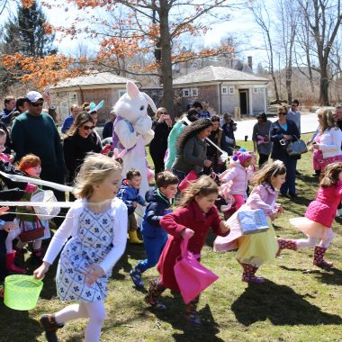 Easter Bunny Tea & Easter Egg Hunt