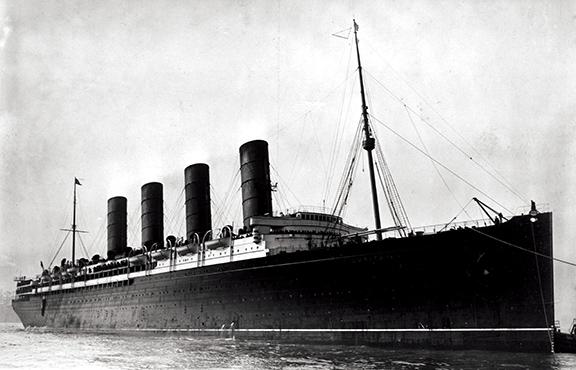 Steamship Supper – March 18 lusitania