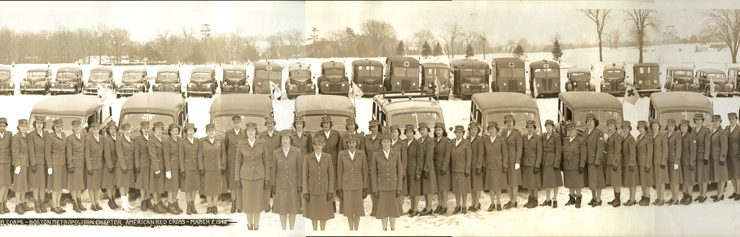 The Ladies of the Red Cross - Volunteer Motor Corps - Boston Metropolitan Chapter